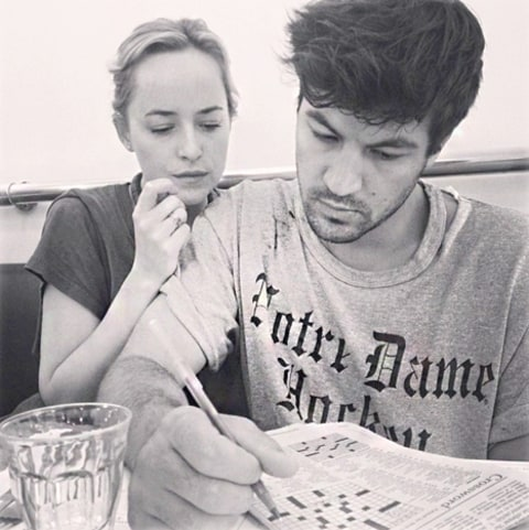 Dakota Johnson and Jordan Masterson
