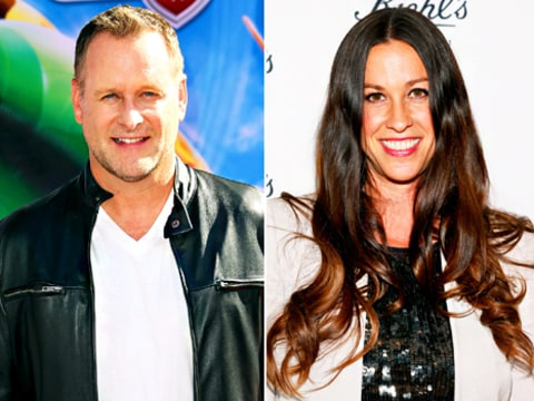 Dave Coulier and Alanis Morissette