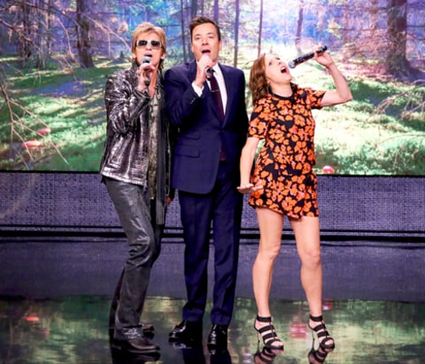 Denis Leary, Jimmy Fallon and Molly Shannon