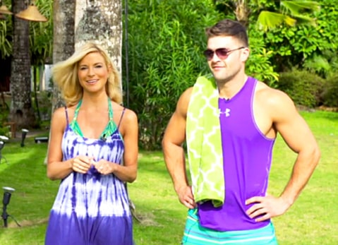 Diem Brown and CT