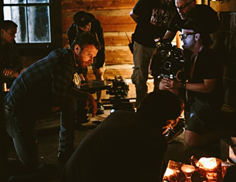Dierks Bentley behind the scenes