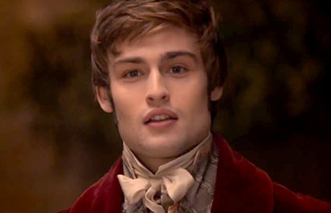 Douglas Booth in Pride and Prejudice and Zombies.