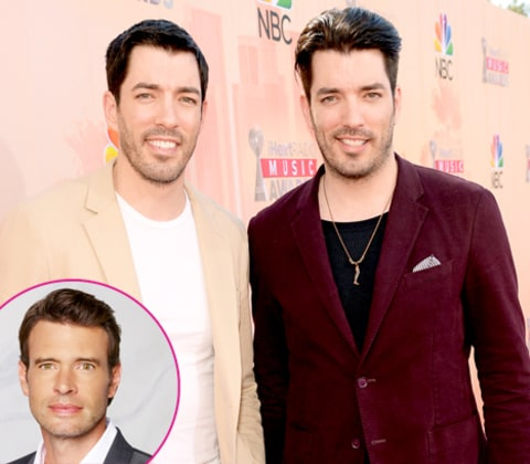 Property Brothers Jonathan Drew Scott Scott Foley Is Our