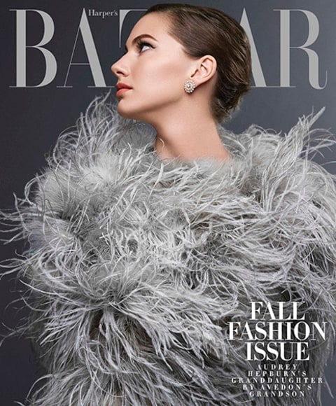 Audrey Hepburn's Granddaughter Emma Ferrer cover 2