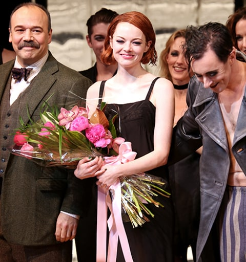 Emma Stone on Broadway