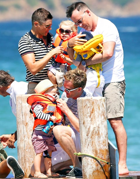 Neil Patrick Harris and Elton John's Family Vacation
