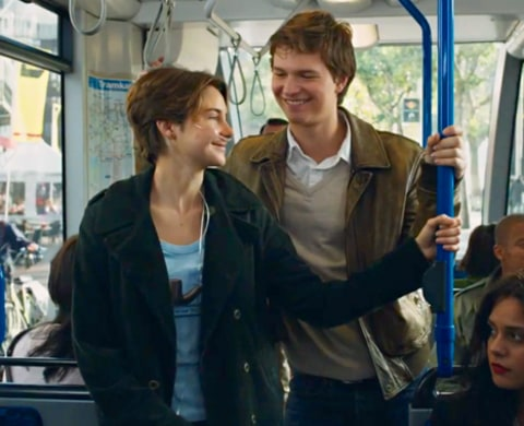 Shailene Woodley and Ansel Egort Fault In Our Stars