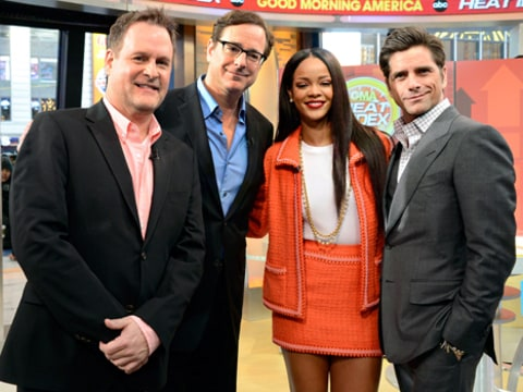 Rihanna and Full House Cast Top Tweets