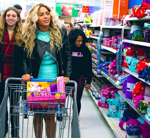 Beyonce Walmart Shopping Cart