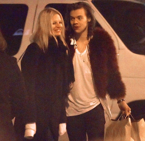 Harry Styles and Nadine Leopold