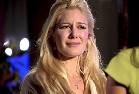 Heidi crying on marriage bootcamp