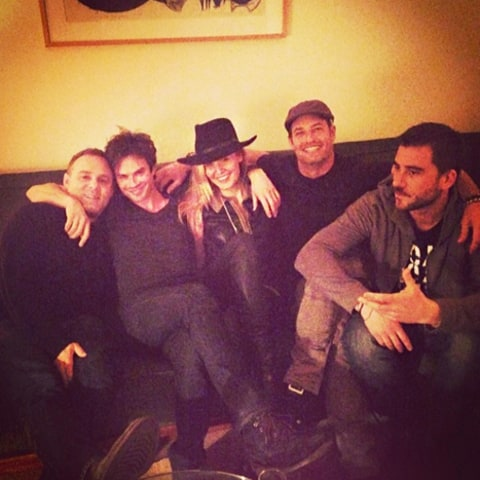 Ian Somerhalder, Maggie Grace and Josh Holloway Instagrak