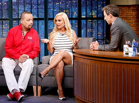 Ice T and Coco on Seth