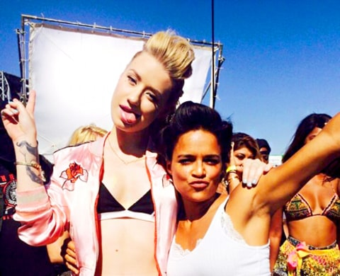 Iggy Azalea and Michelle Rodriguez Fast & Furious