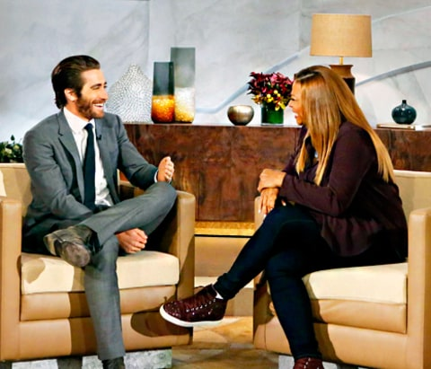 Jake Gyllenhaal and Queen Latifah