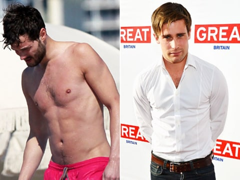 Jamie Dornan and Christian Cooke