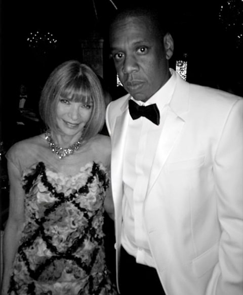 Jay Z and Anna Wintour