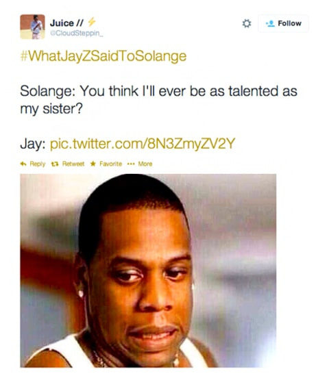 What Jay Z Said To Solange Meme