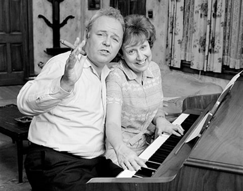 Jean Stapleton and Carroll O'Connor