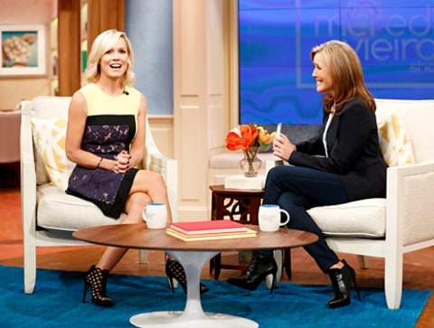 Jennie Garth on Meredith Vieira
