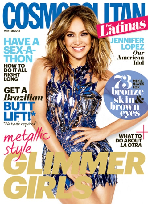 Jennifer Lopez Cosmo for Latinas Cover