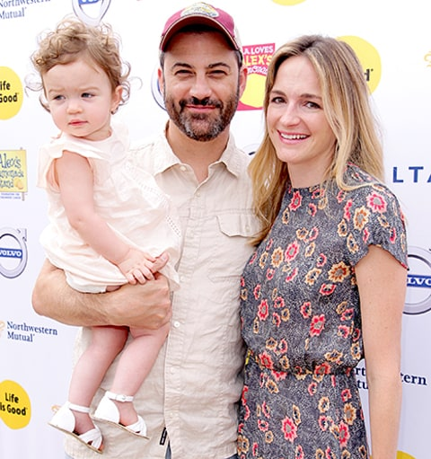 Jimmy Kimmel, Jane Kimmel and Molly McNearney