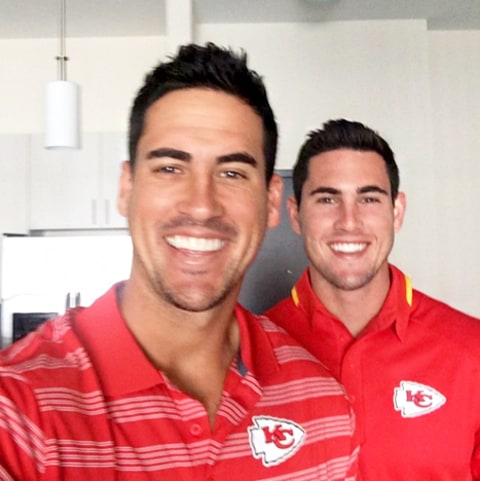 Josh Murray and Aaron Murray