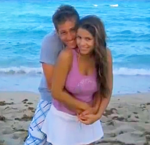 Juan Pablo Galavis and Carla