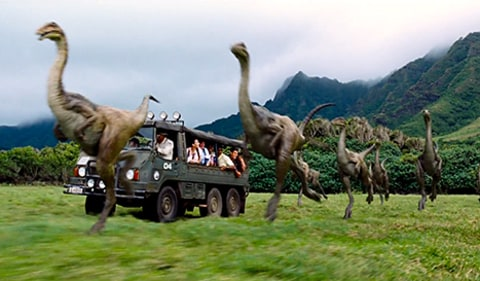 Jurassic World - dinosaurs