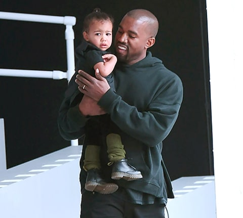 Kanye and north