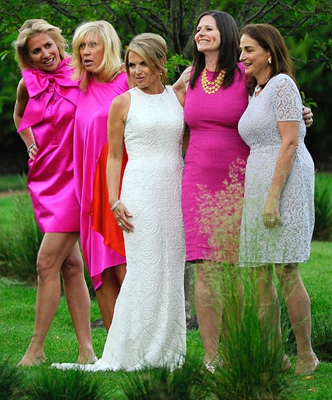 Katie Couric Wedding