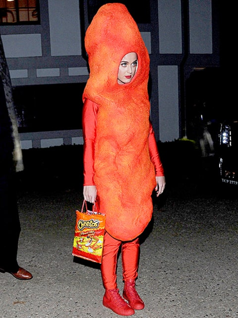Katy as a cheeto