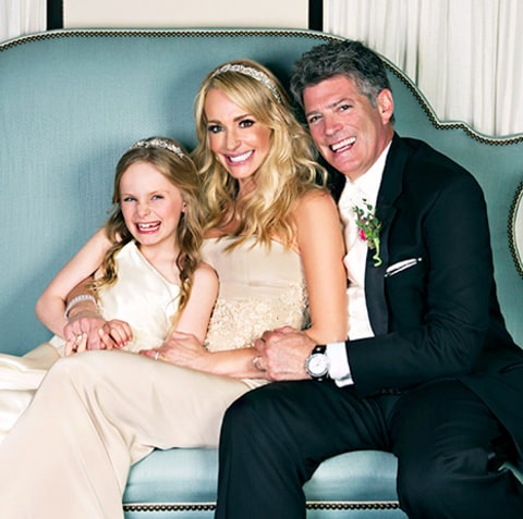 Taylor Armstrong, John Bluher and Kennedy Wedding