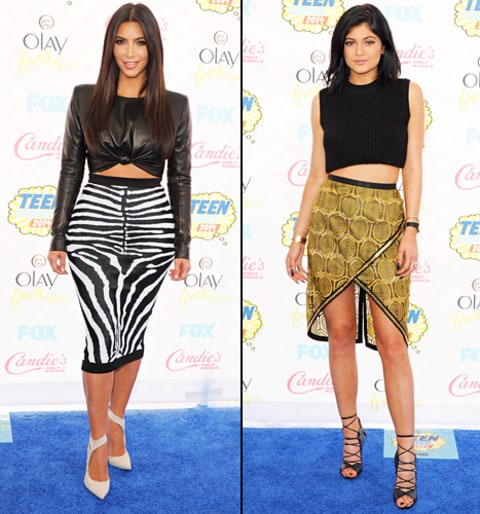 Crop Tops Teen Choice Awards