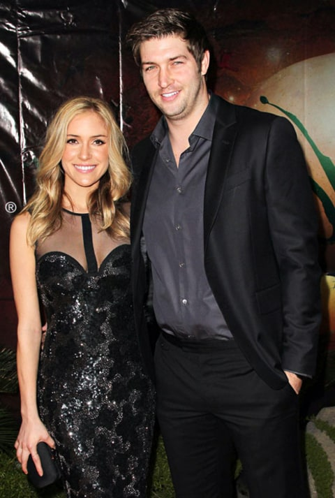 Kristin and Jay Cutler