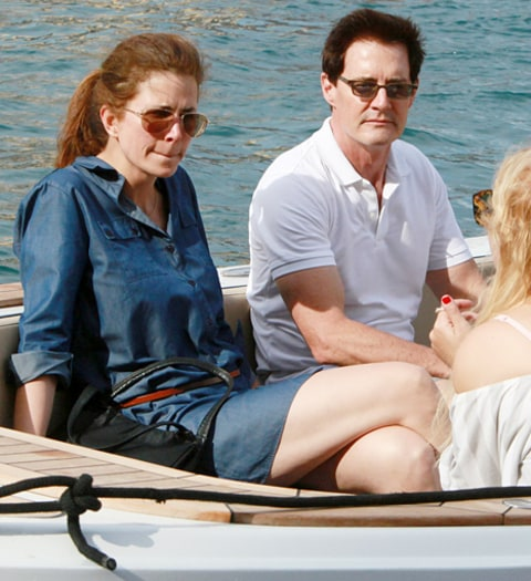 kyle maclachlan and wife
