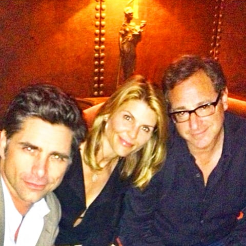 Lori Loughlin, John Stamos and Bob Saget
