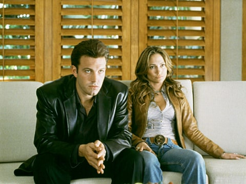 Ben Affleck and Jennifer Lopez in Gigli