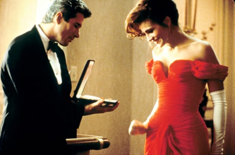 Richard Gere and Julia Roberts Necklace Scene