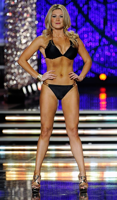 Miss America Mallory Hagan Swimsuit Competition