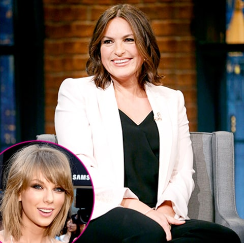 Mariska Hargitay and Taylor Swift