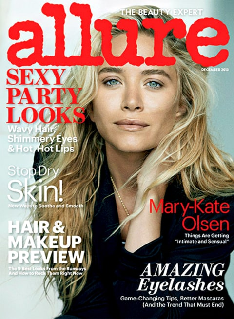 Mary-Kate Olsen Allure Cover
