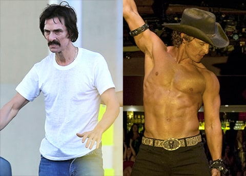 weight loss matthew mcconaughey movies