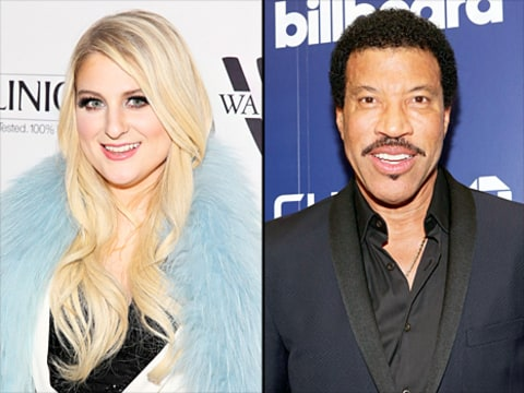 Meghan Trainor and Lionel Richie