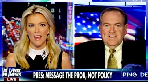 Megyn Kelly and Mike Huckabee