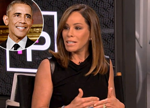 Melissa Rivers and Obama