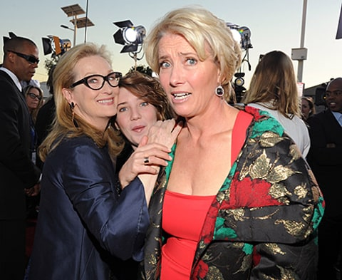 Meryl Streep and Emma Thompson