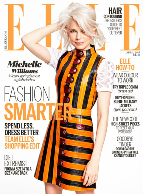 Michelle Williams Elle UK Cover