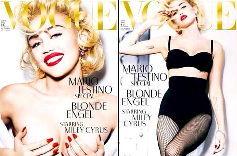 Miley Cyrus Vogue Germany Cover