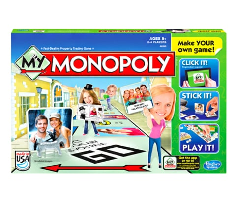 Kim Kardashian and Kanye West Monopoly